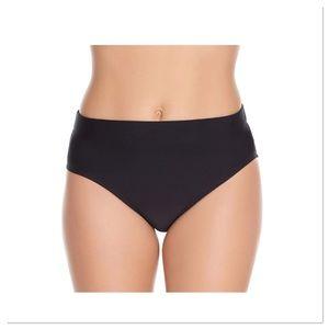 Black High Waist Bikini Bottoms